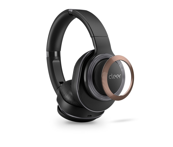 Cleer FLOW noise cancelling Bluetooth wireless headphone